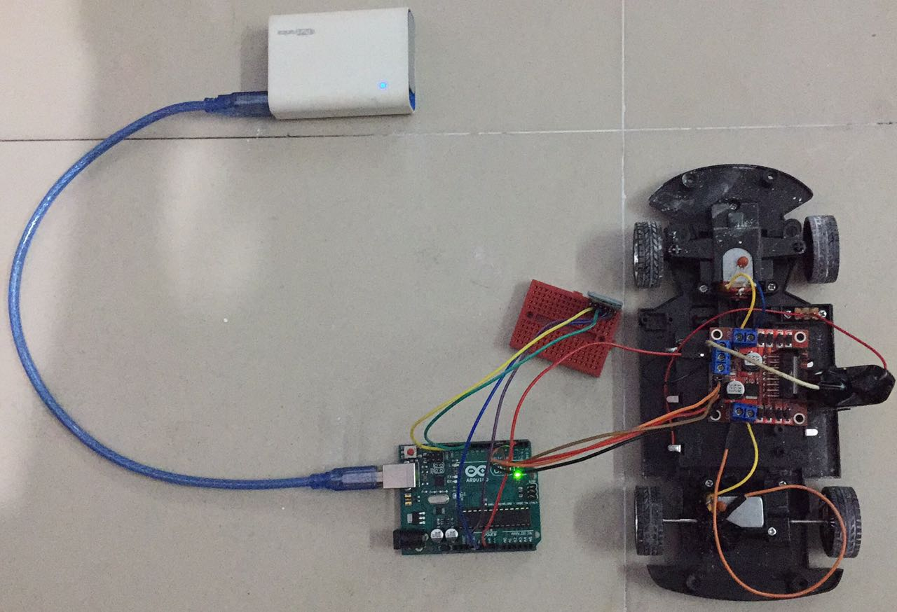 Remote Controlled Car Using Arduino - System Management