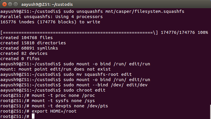 Building a Customized Linux Distro - System Management